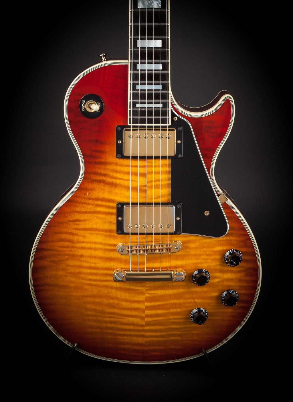 Gibson Guitars: 1991 Les Paul Custom Plus Heritage Cherry Sunburst #92131420