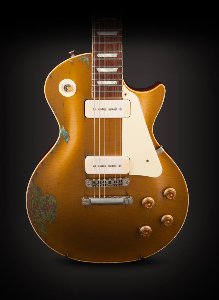 Rock N Roll Relics Heartbreaker Goldtop Throbak P90s #16526
