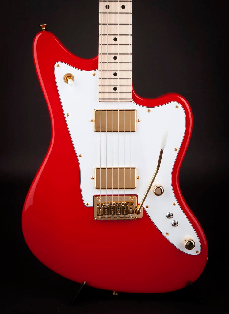 Tom Anderson: Raven Classic Shorty Dakota Red with Gold Hardware #06-27-19A