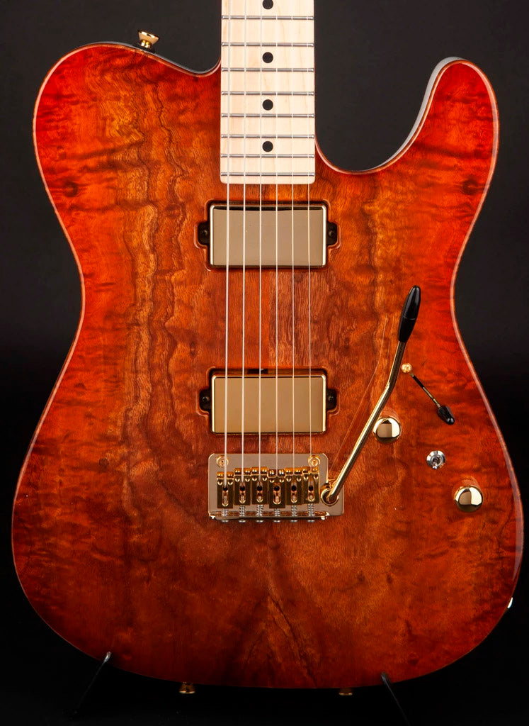 Tom Anderson: Drop T Private Reserve Koa Top #05-14-18A