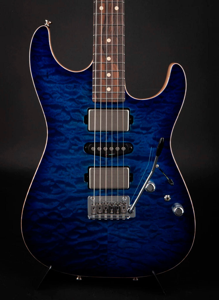 Tom Anderson: Drop Top Deep Ocean Blue Burst #07-02-19A