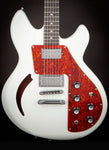 Lucem Guitars:Visceral Snowy White