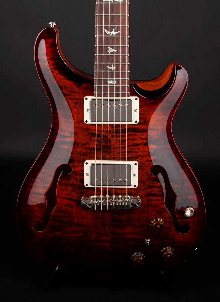 PRS Guitars:Hollowbody II Orange Tiger Cherry Burst #0274881