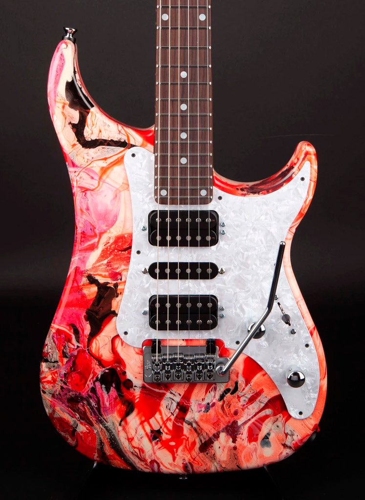 Vigier Guitars: Excalibur Original 'Rock Art' #180170