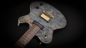 Nik Huber Dolphin Exceptional Burl Top Special Starry Night Blue #62309
