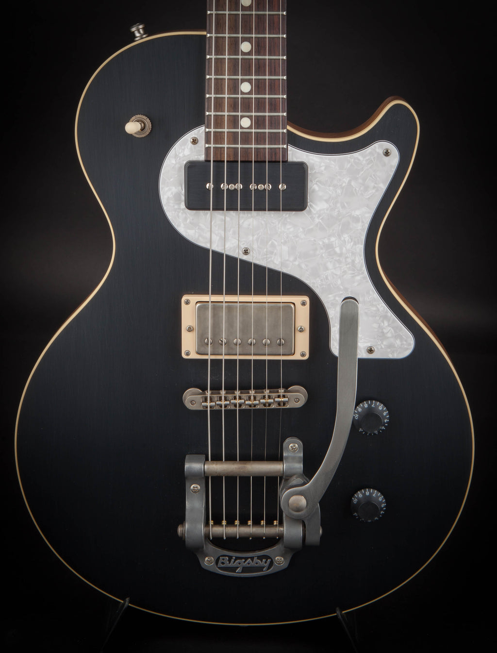 Nik Huber Krautster II Custom Onyx Black with Bigsby #72508