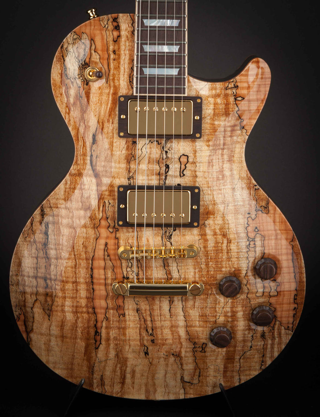 Nik Huber Orca 59 Spalted Maple with Brazilian Fingerboard #72495