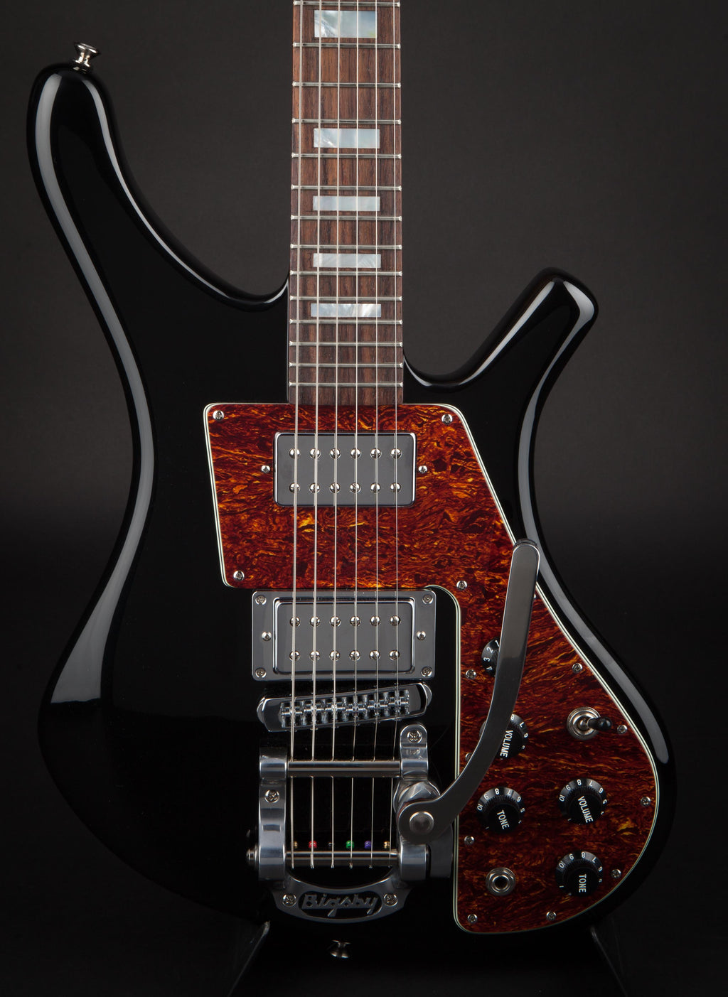 Lucem Guitars: 'Nick McCabe' Paradox Custom Black