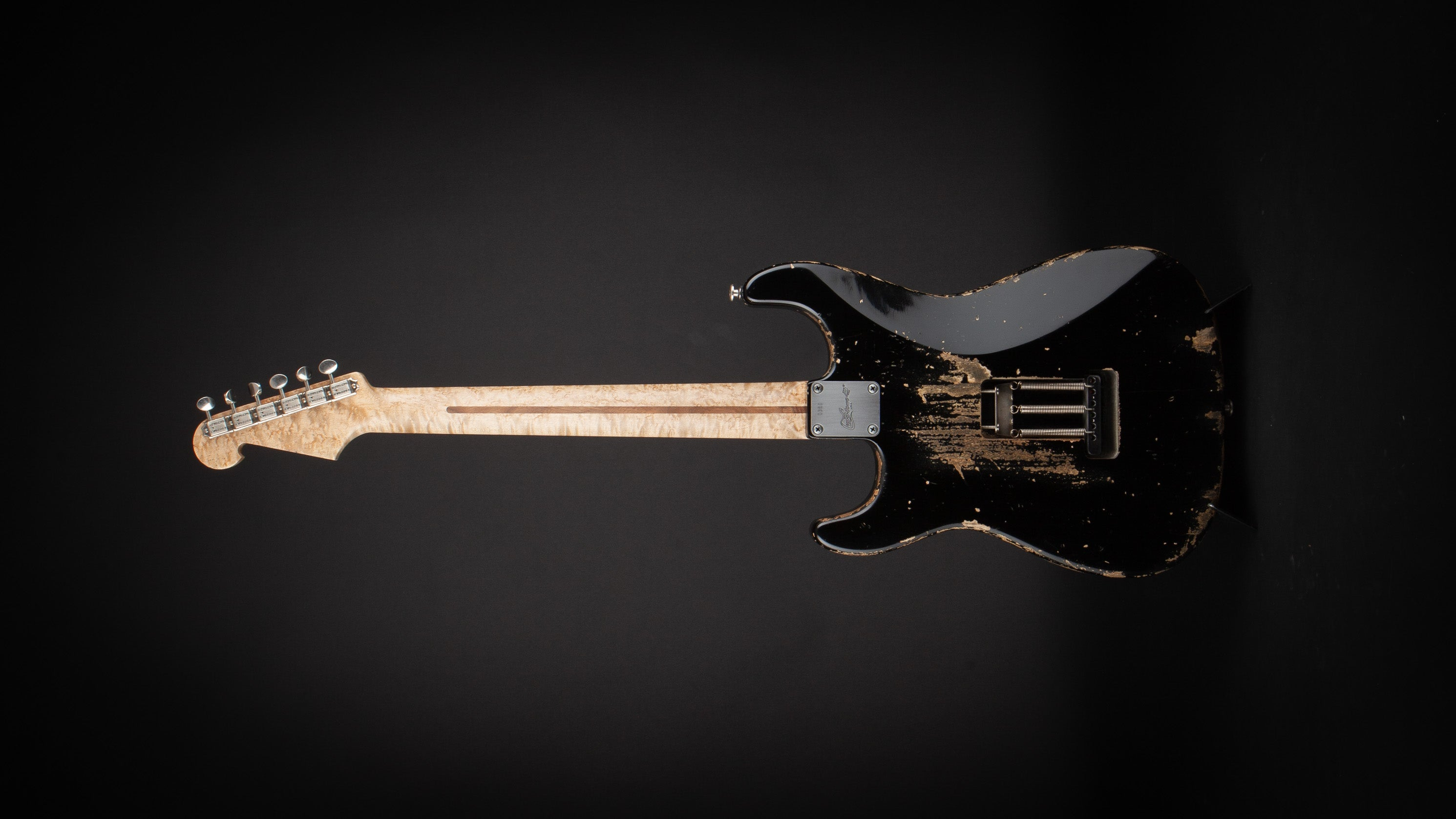 Luxxtone Guitars: Choppa S Black #380