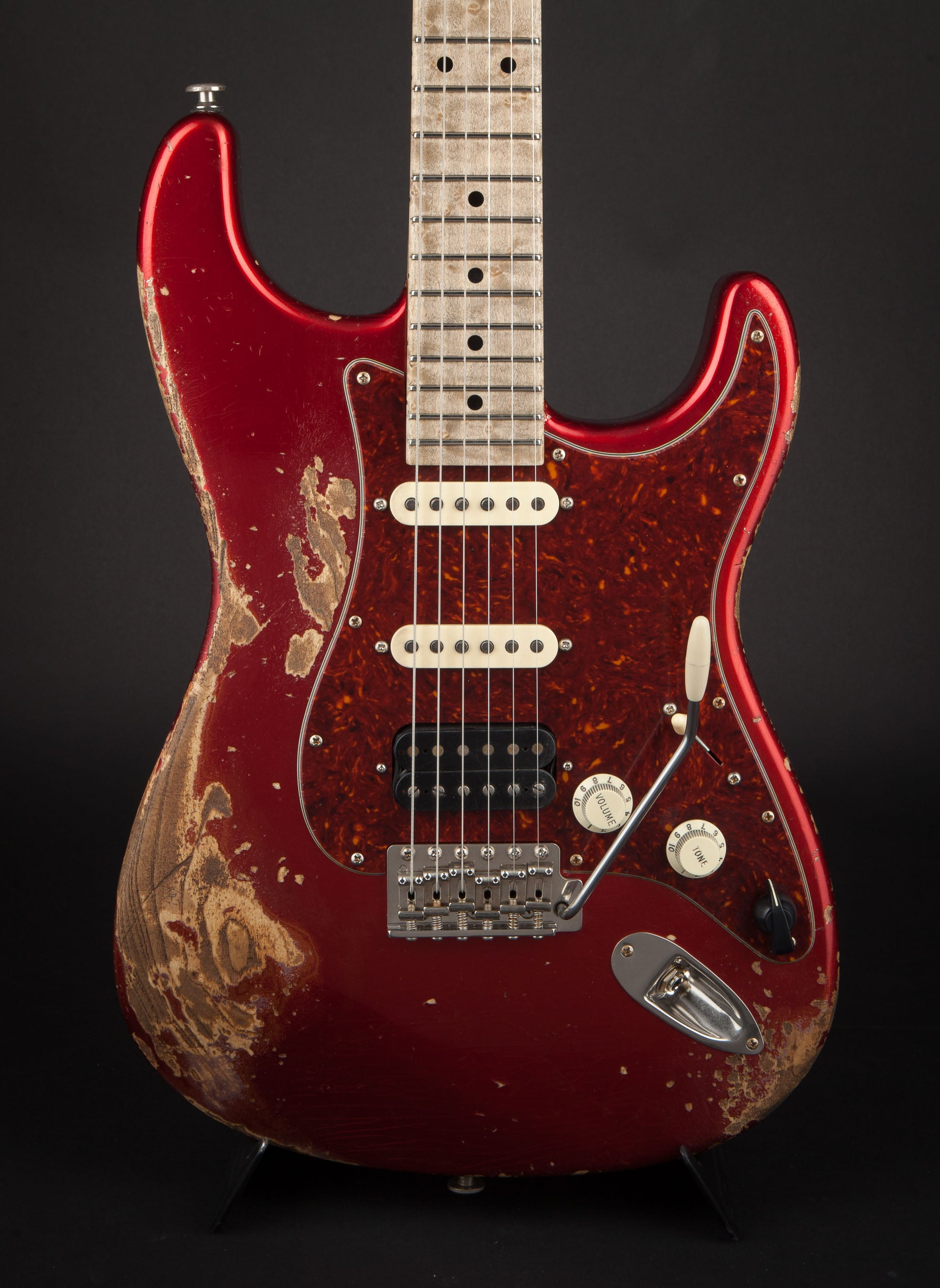 Luxxtone Guitars: Choppa S Candy Apple Red #381