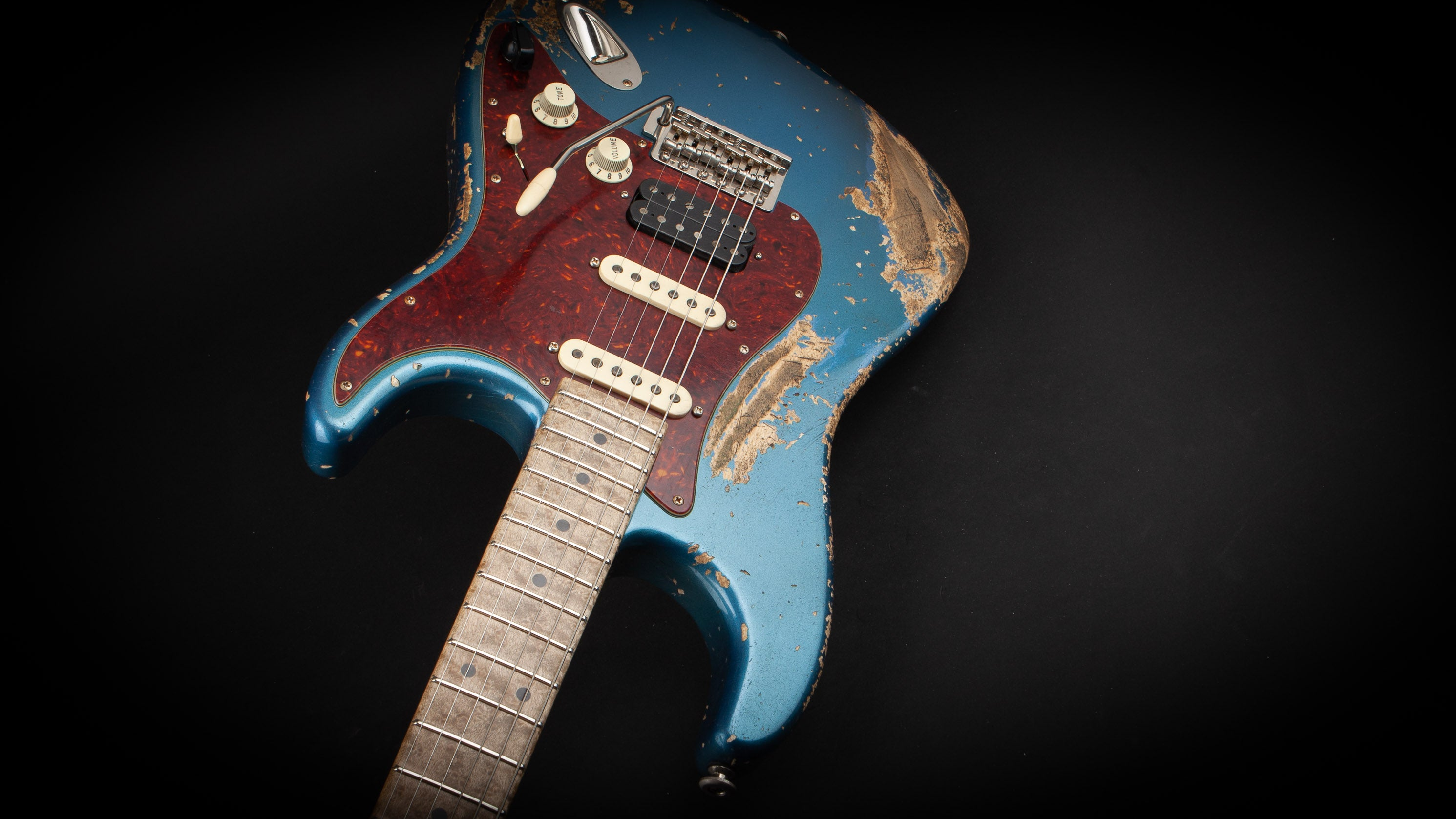 Luxxtone Guitars: Choppa S Lake Placid Blue #383