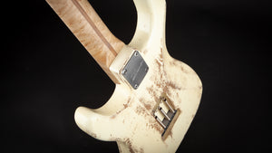 Luxxtone Guitars: Choppa S White #0386