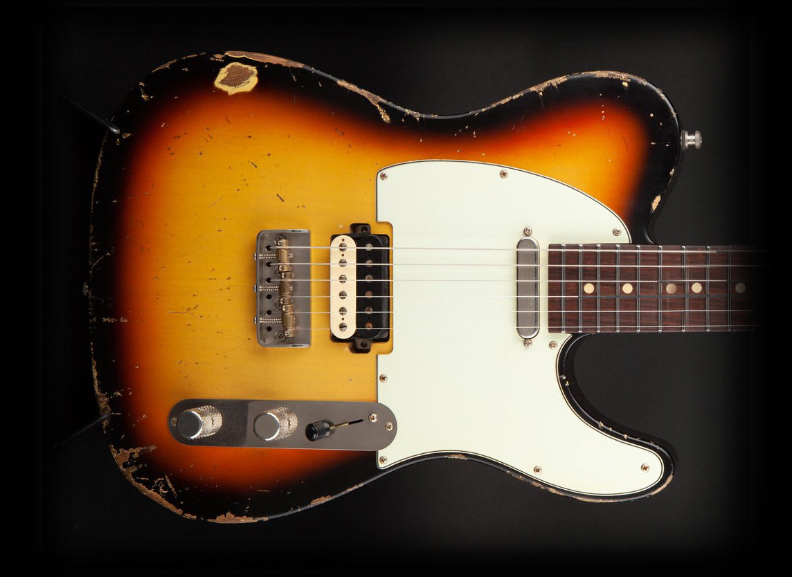 Luxxtone Guitars: Choppa T Sunburst #284