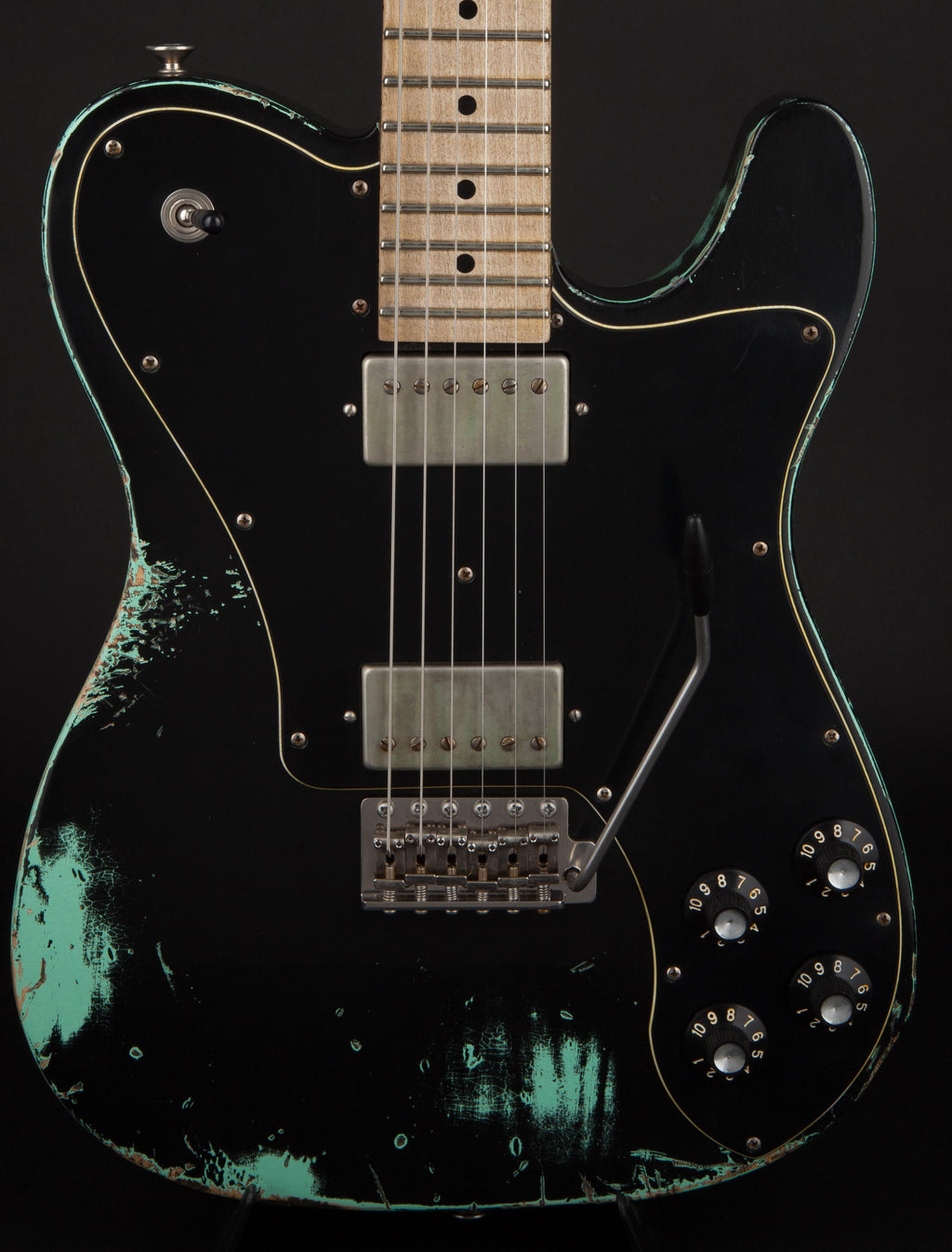 Luxxtone Nashville Black over Sea Foam Green #0017