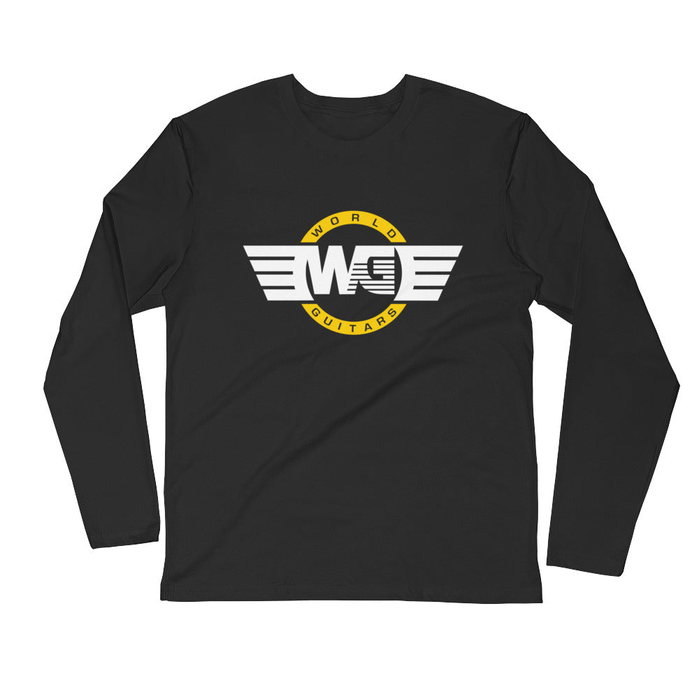 WG Brand Carrier Long Sleeve Fitted Crew