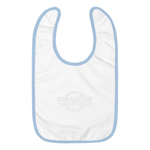 WG Embroidered Baby Bib