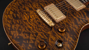 Nik Huber Dolphin Semi Hollow Tiger Eye #11075