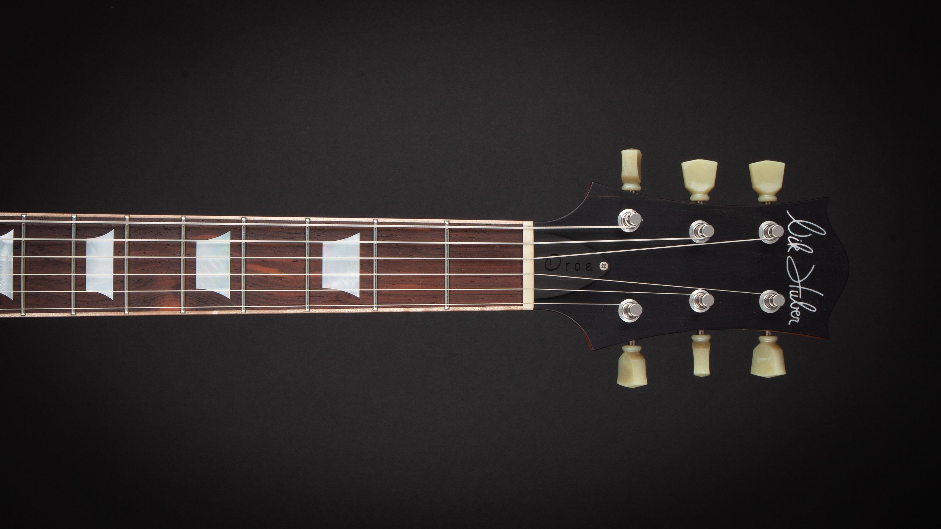 Nik Huber: Orca 59 with Brazilian Fingerboard Faded Sunburst #93055