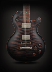 Nik Huber: Orca Redwood Semi Hollow Charcoal Burst #72543