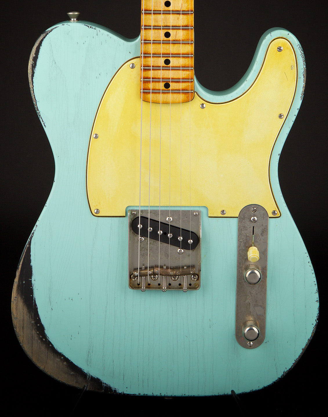 Palir Guitars Used Titan Chambered Kerry Green