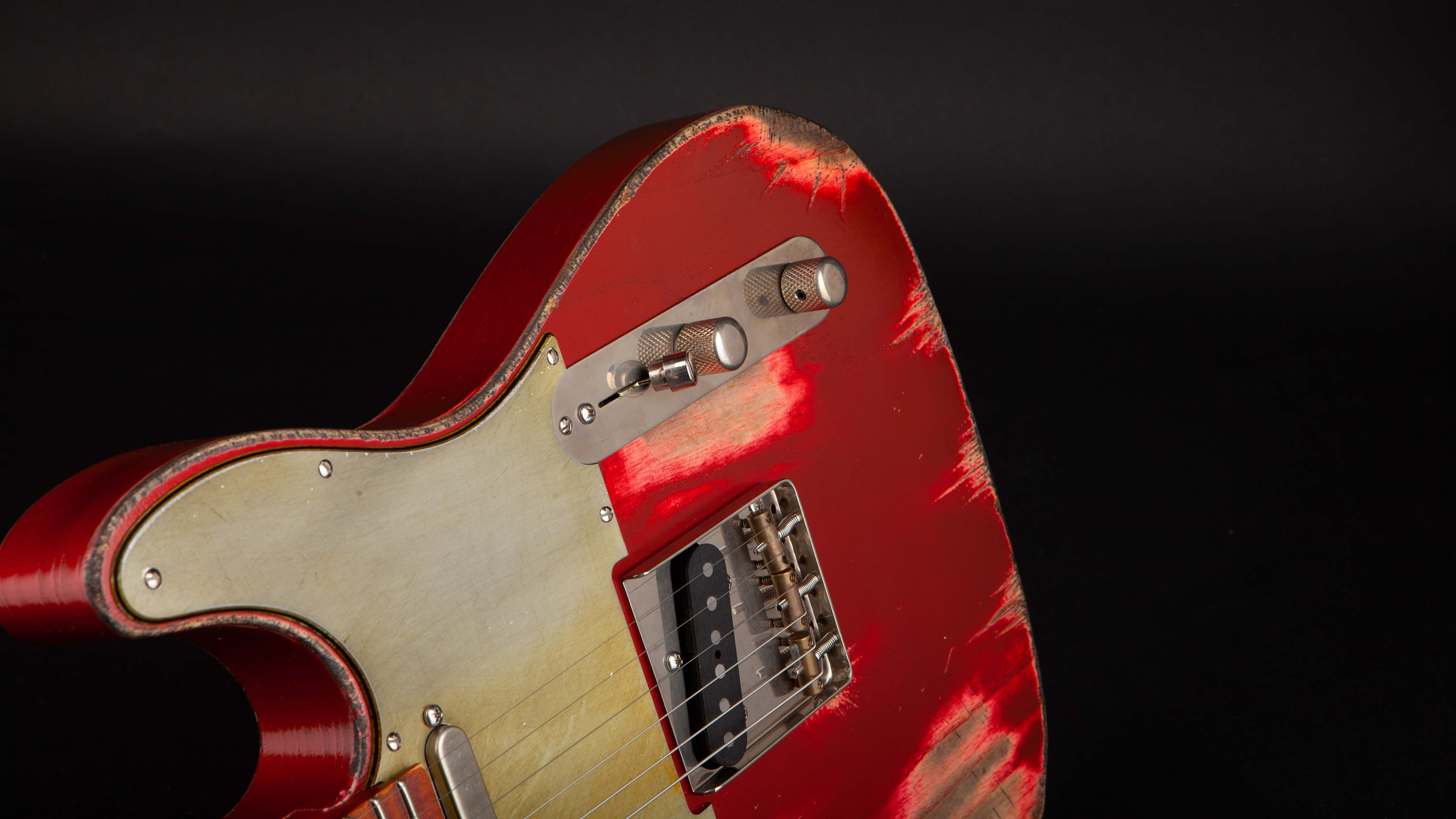 Palir Guitars: Titan Candy Apple Red #612191