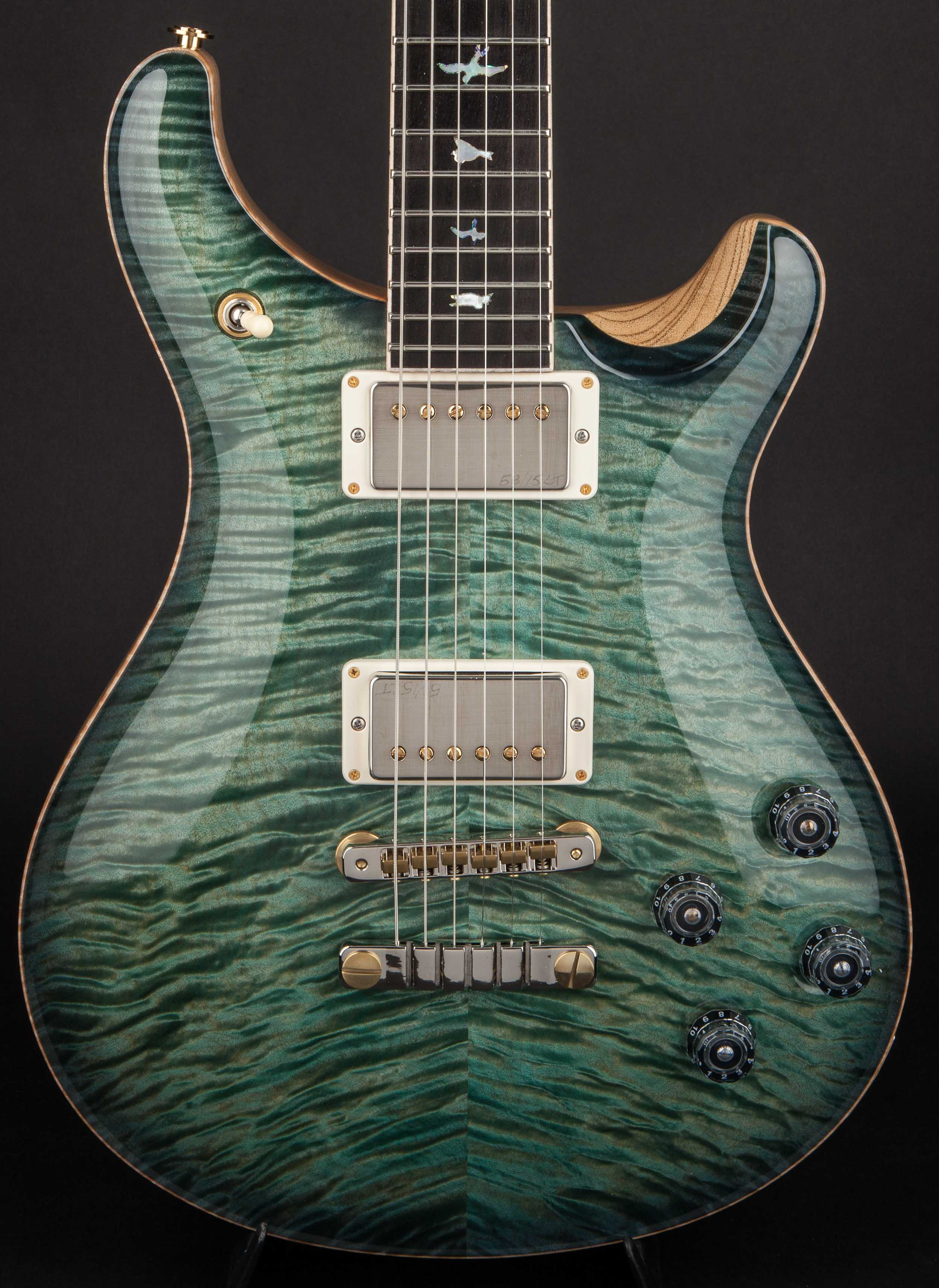 PRS Private Stock McCarty 594 'Periscope #6' Teal Nightshade #6402