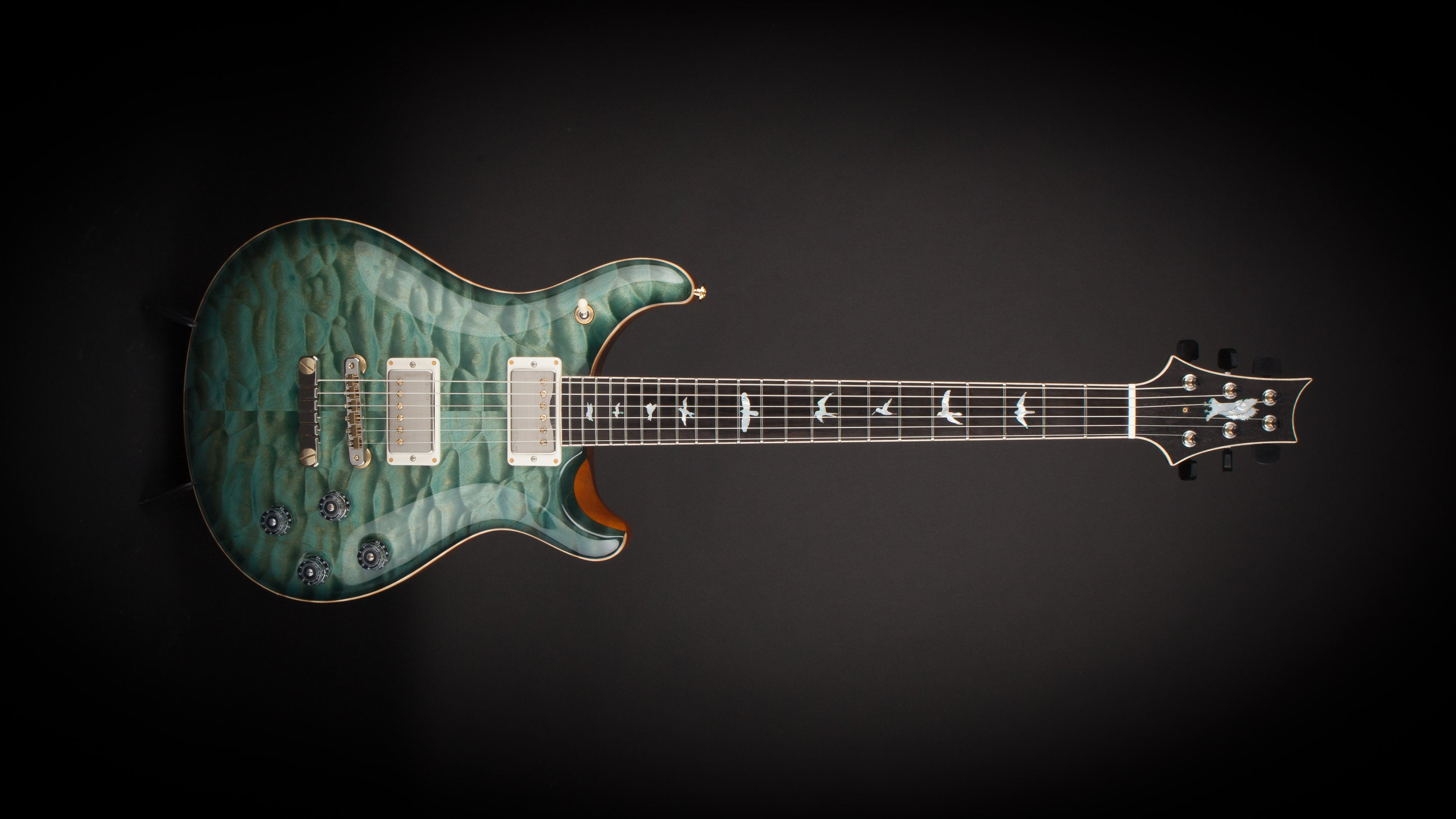 PRS Private Stock McCarty 594 'Periscope #7' Teal Nightshade #6403