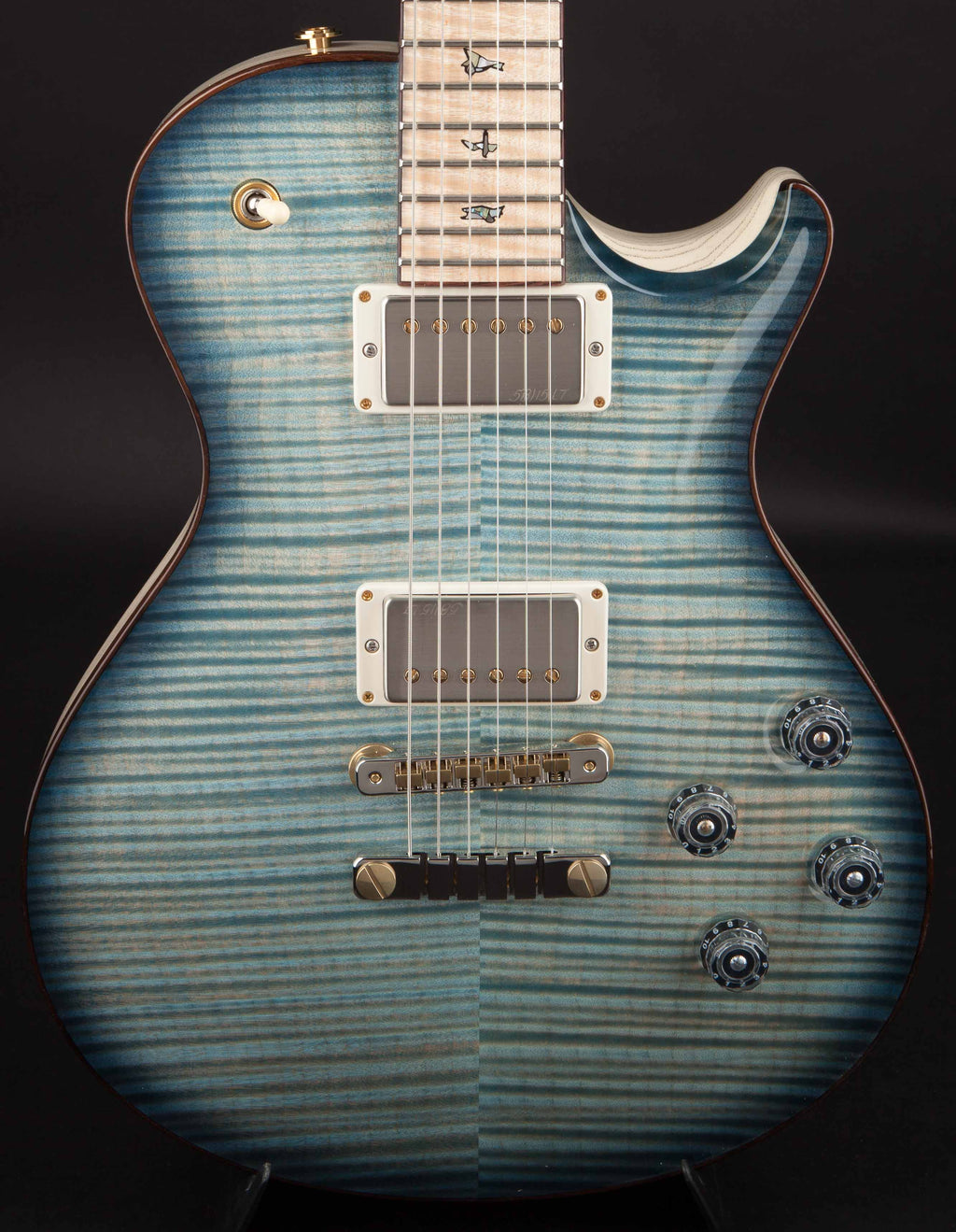 PRS Private Stock Guitar of the Month November Singlecut McCarty 594 Faded Royal Blue Smoked Burst #6621