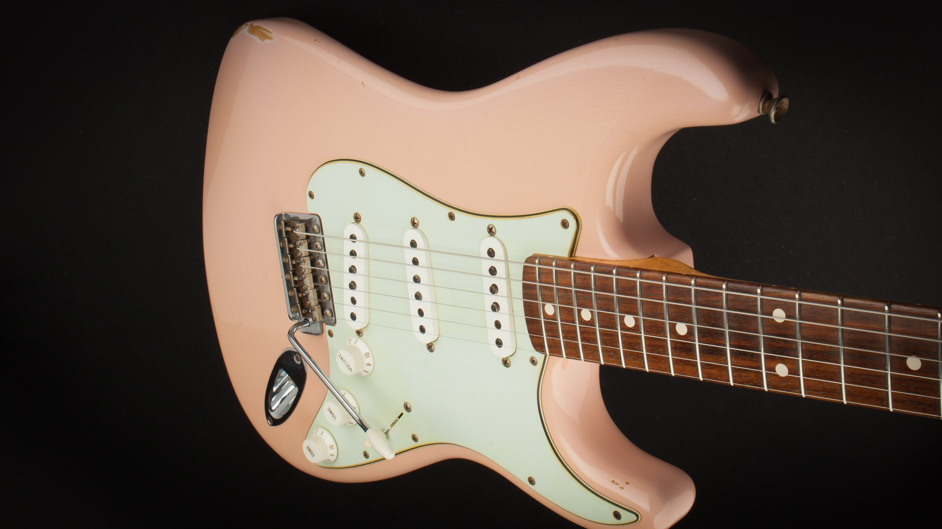 Fender Custom Shop 60 Stratocaster Shell Pink #R64956