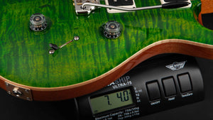 PRS Guitars:Custom 24 Emerald Green Natural Back #255025