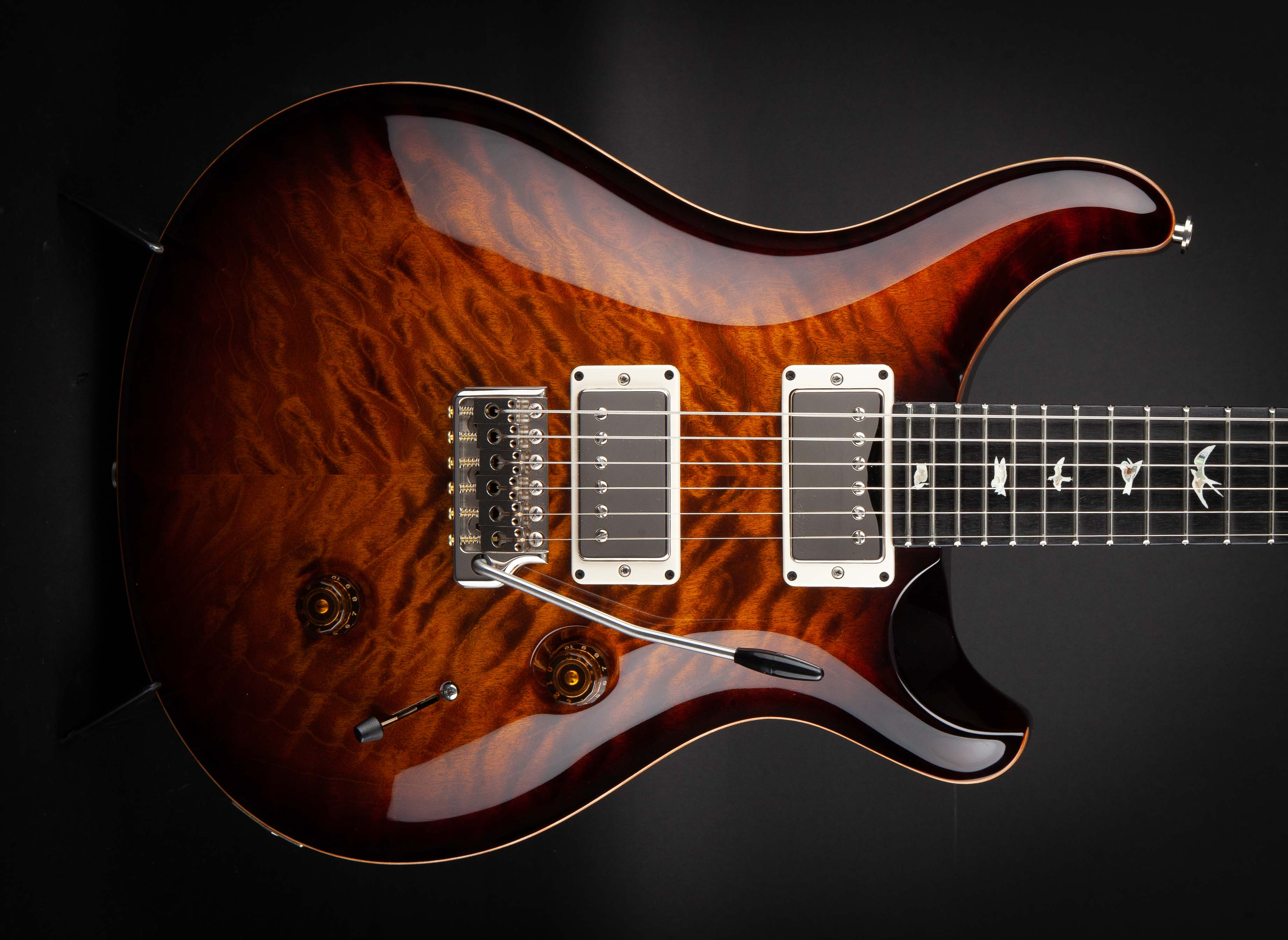 PRS Guitars:Custom 24 Quilt Limited Black Gold #242433