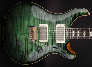 PRS Private Stock Custom 24 'Lotus Knot' Guitar of the Month Sage Glow Smoked Burst #6604