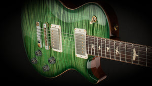 PRS Guitars Private Stock McCarty Singlecut Faded Green Smoked Burst #5025
