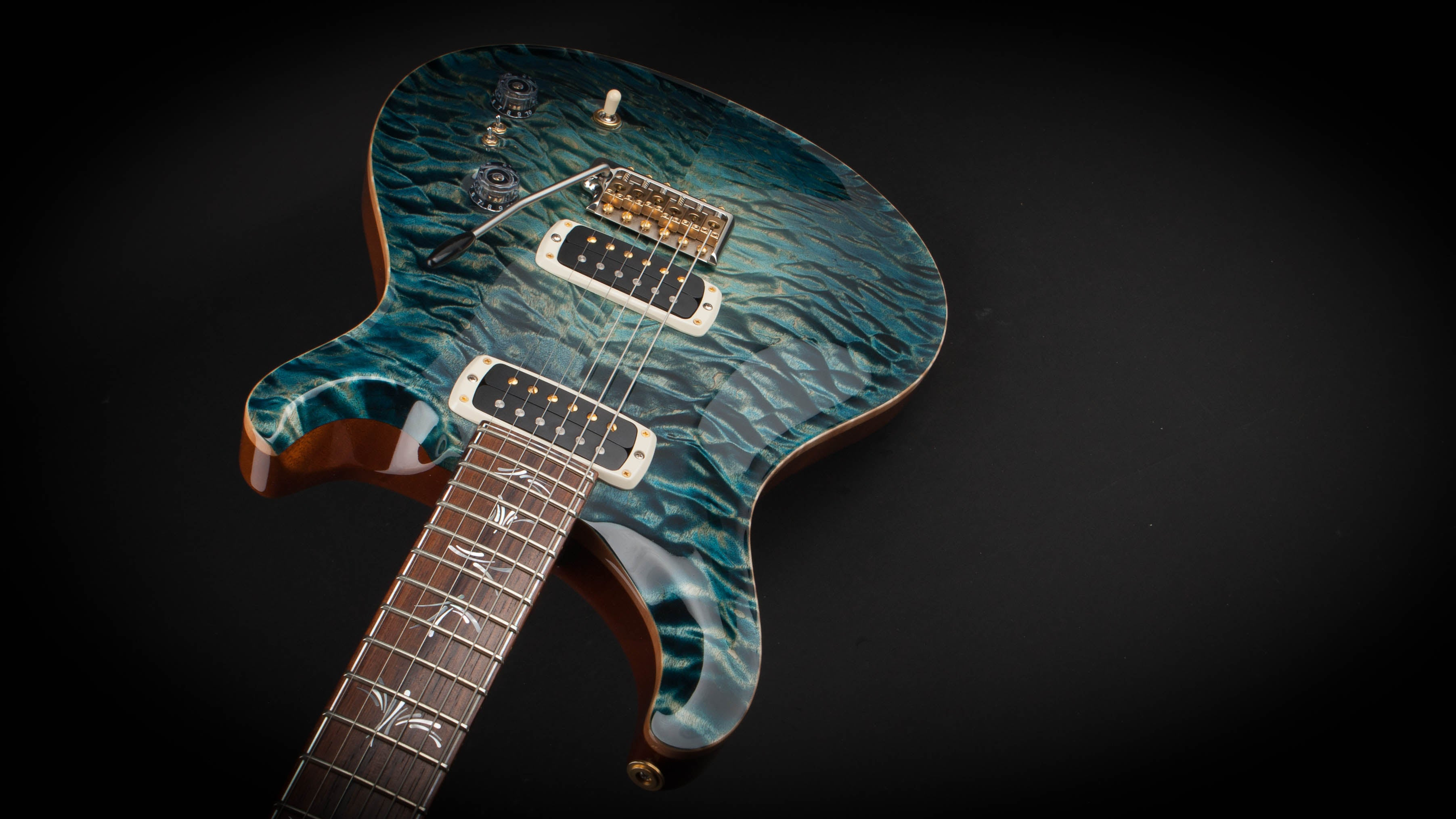 PRS Guitars Private Stock Paul's Guitar Blue Steel Glow #5286
