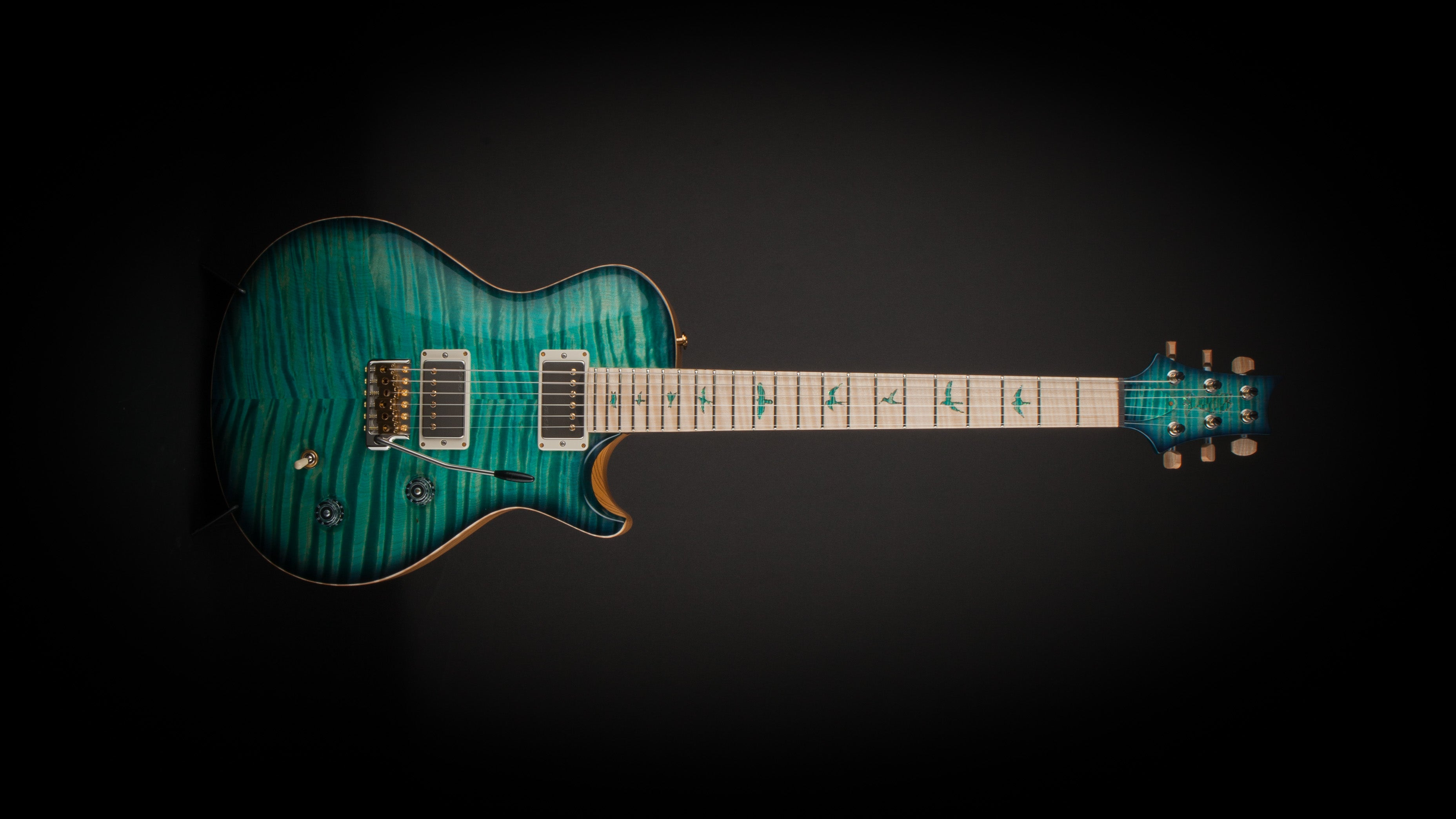 PRS Private Stock Singlecut Bahama Blue Smoked Burst #7070