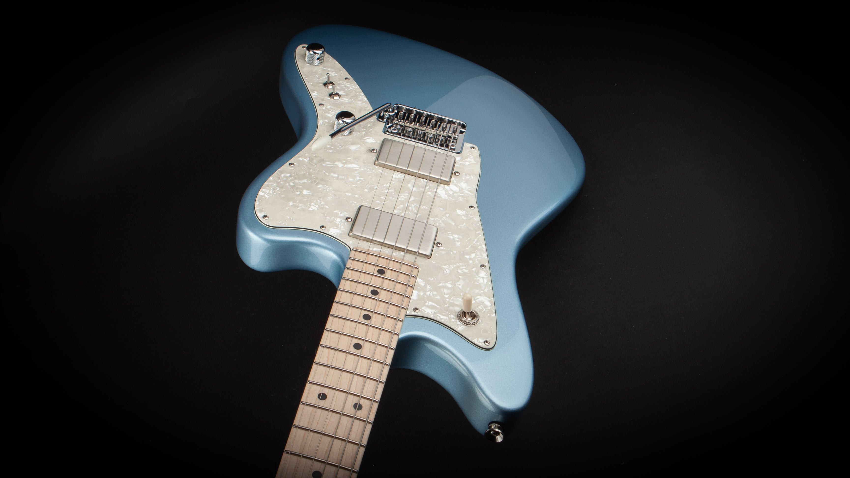 Tom Anderson: Raven Classic Shorty Metallic Ice Blue #12-30-18n