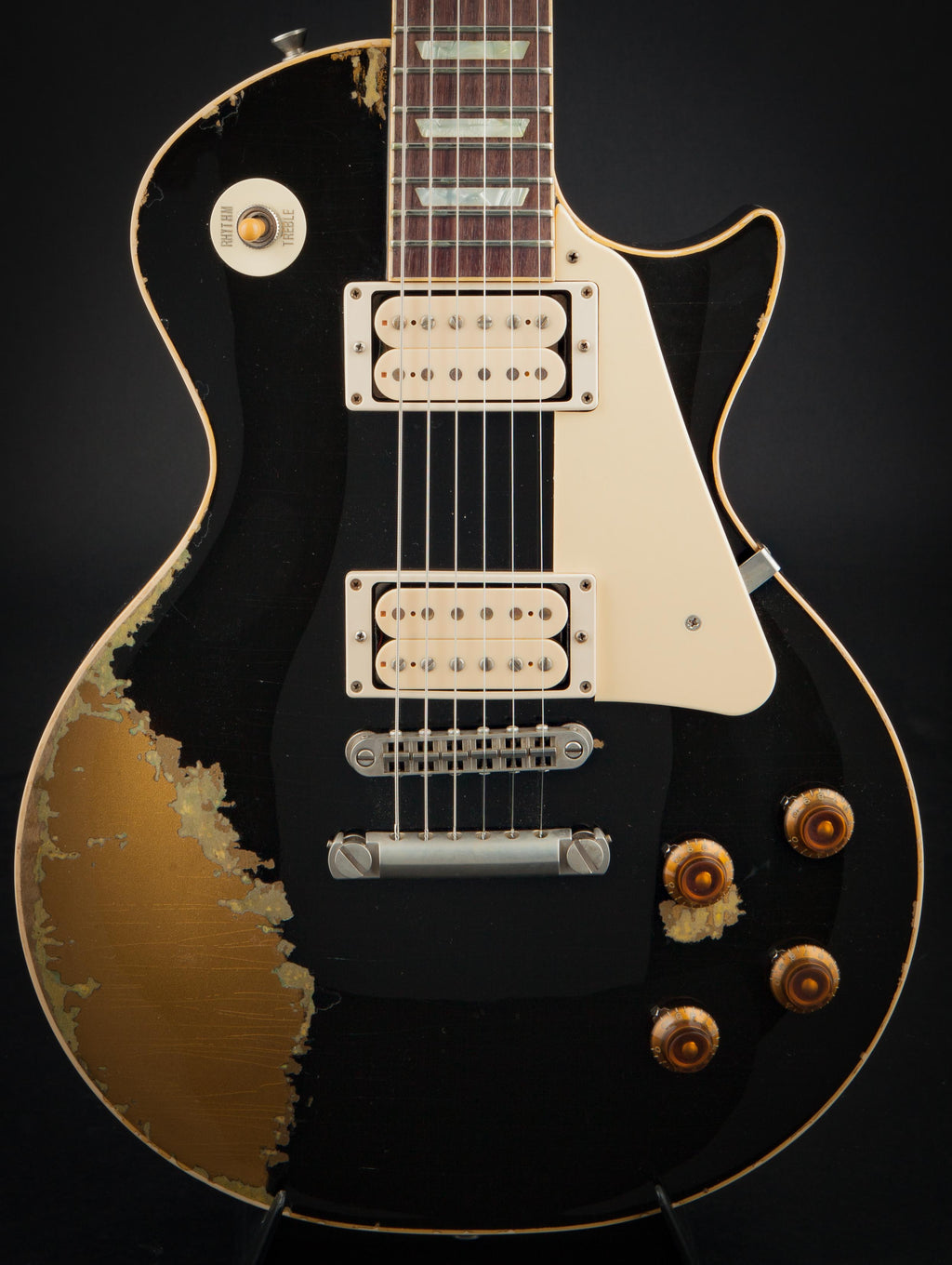 Rock N Roll Relics Heartbreaker Black over Goldtop #16461-H