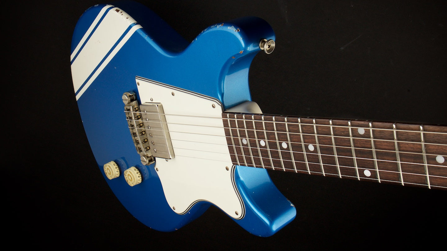 Rock n Roll Relics Thunders Lake Placid Blue with Competition Stripe #15287-T
