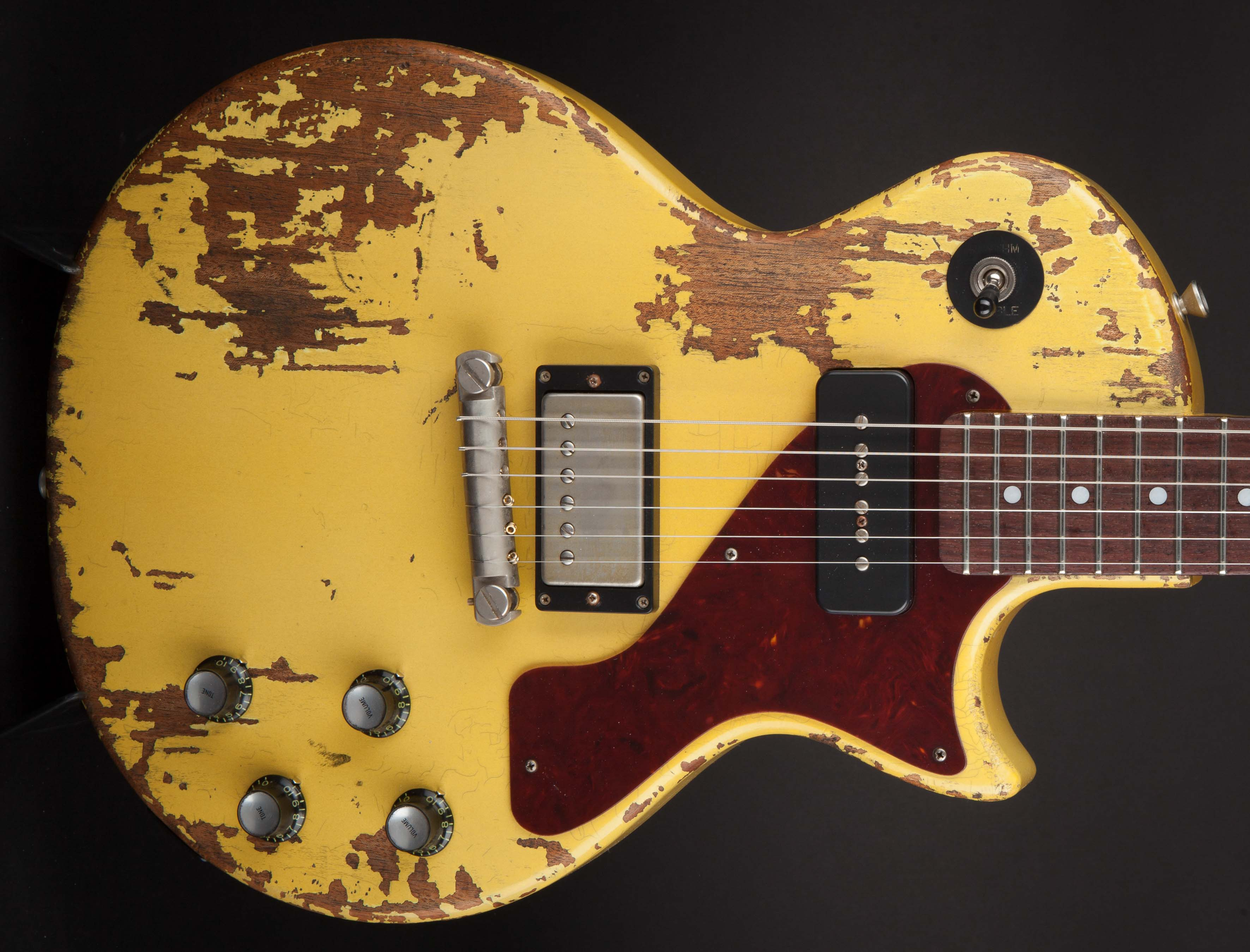 Rock n Roll Thunders TV Yellow P90 Limited Run #16543