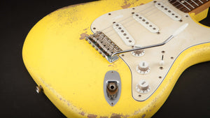 Rock n Roll Relics: Blackmore Graffiti Yellow #20936