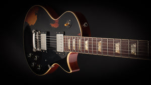 Rock N Roll Relics Heartbreaker Ebony over Sunburst Flame #17579