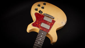 Rock n Roll Relics: Thunders TV Yellow with ThroBak Humbuckers #19835