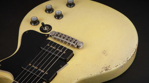 Rock n Roll Relics: Thunders TV Yellow with P90's #19908