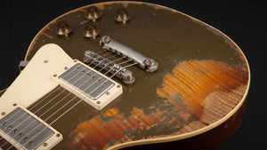 Rock N Roll Relics Heartbreaker Goldtop over Sunburst Flame #18625