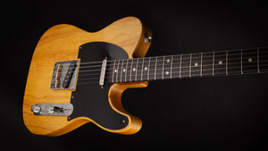 Smitty Guitars 50's T Butterscotch with Mastergrade Roasted Flame Maple Neck