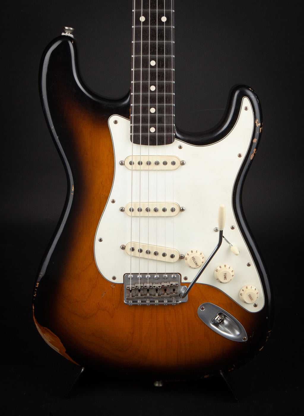 Smitty Guitars: Classic S Sunburst with Mastergrade Flame Neck
