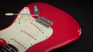Smitty Guitars: Classic S Faded Fiesta Red with Brazilian Fretboard