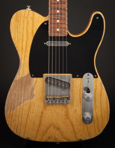 Smitty Guitars 50's T Style Butterscotch with Mastergrade Roasted Flame Maple Neck