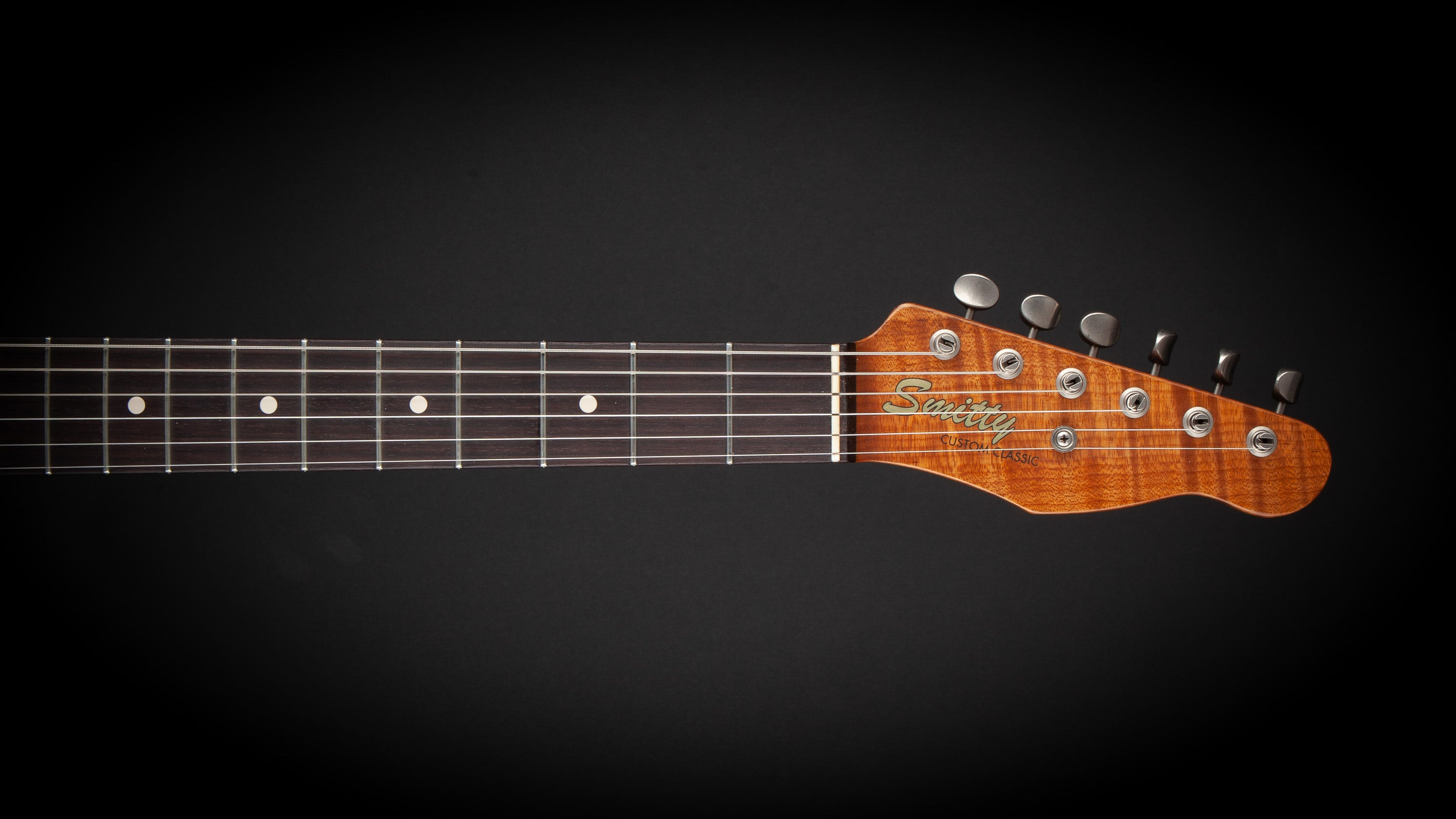 Smitty Guitars: Classic T SFG with Mastergrade Roasted Flame Maple Neck