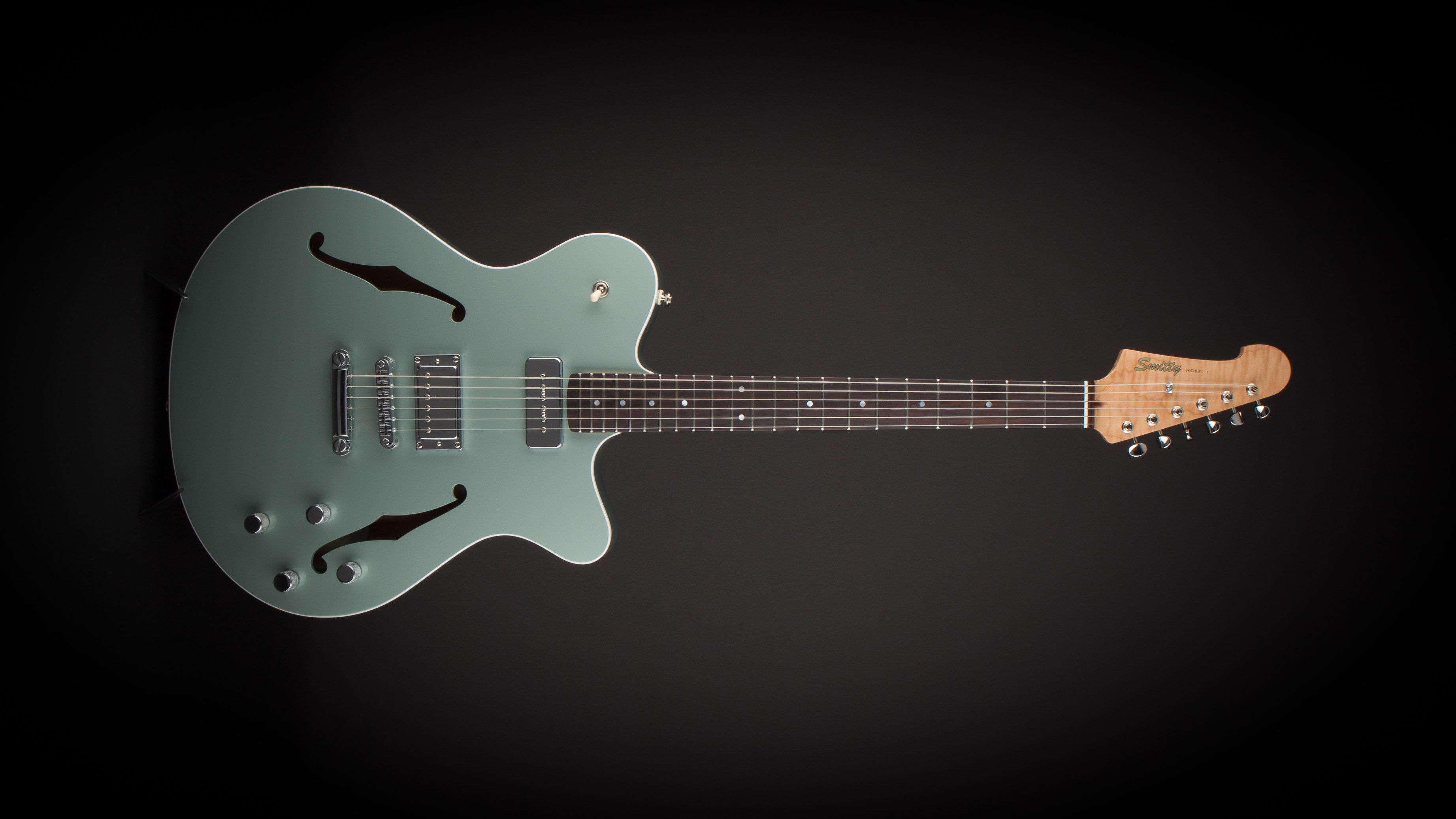 Smitty Guitars: Model 1 ES Mosport Green